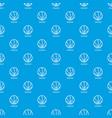 Basketball pattern seamless blue