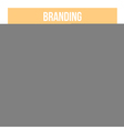 Branding Doodle Icons vector image vector image