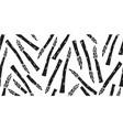 hand drawn asparagus seamless pattern organic vector image