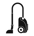 house vacuum cleaner icon simple style vector image vector image