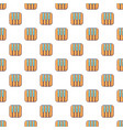 piano keys pattern seamless vector image vector image