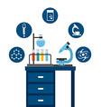 science school design vector image