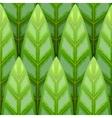 seamless leaf background vector image vector image
