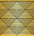 abstract luxury geometric seamless pattern vector image
