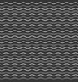 abstract monochrome waves seamless pattern vector image vector image