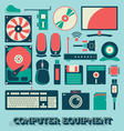 Computer Equipment vector image vector image