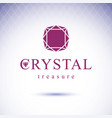 Glossy gemstone design element faceted jewelry
