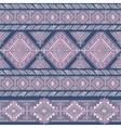 Tribal Aztec vintage seamless pattern vector image vector image