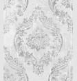 vintage baroque ornamented background vector image vector image