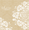 Vintage lace and damask invitation vector | Price: 1 Credit (USD $1)