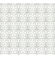 white floral lacy pattern vector image vector image