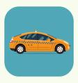 Eco Taxi Icon vector image vector image