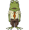 frog office vector image vector image