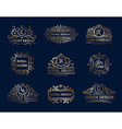 Luxury Labels Design Set vector image vector image