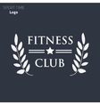 Power fitness gym logo vector image