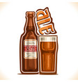 alcohol drink ale vector image vector image