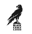 Monochrome eagle logo
