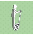 Segway icon design vector image