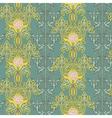 Vintage seamless pattern art nouveau ornament vector image vector image