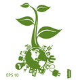 environment icon vector image