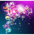 3D colorful vector image