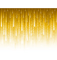 abstract modern background with golden glittering vector image vector image