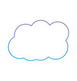 cloud weather sky day meteorology design vector image vector image