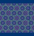 floral seamless pattern flourish tile oriental vector image vector image