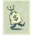 full sack money sign vector image