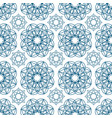 geometric seamless pattern with circular shapes vector image vector image