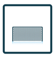 Icon of football gate vector image