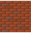 Red brick wall seamless pattern