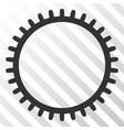 tooth gear eps icon vector image vector image