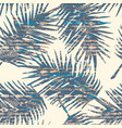 tribal ethnic seamless pattern with palm leaves vector image vector image