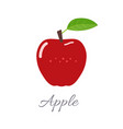 apple icon with title vector image