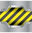 Background with danger colors vector image