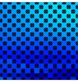 Bright blue geometrical background vector image vector image