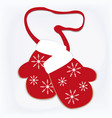 christmas cookies in the form of a mesh vector image vector image