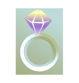 icon ring vector image vector image