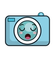 kawaii cartoon photographic camera vector image