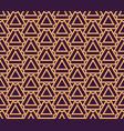 luxury geometric pattern seamless pattern vector image vector image