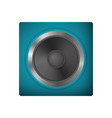 modern audio speakers vector image vector image