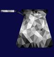 polygon cezve image vector image vector image