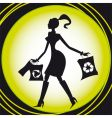 shopping recycle vector image vector image