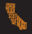 california quotes and slogan good for t-shirt a vector image vector image