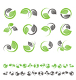 Green leaf logo vector | Price: 1 Credit (USD $1)