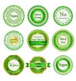 Organic labels badges and stickers