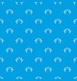 paintball guns pattern seamless blue vector image vector image