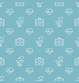 seamless medical pattern vector image
