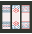 Banners decorative set vector image